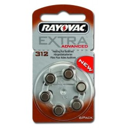Batterie tipo 13 Rayovac Blister 6 pz.